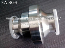 Stainless Steel Sanitary Non Return Tri Clamped Check Valve