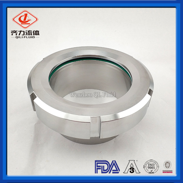 Sanitary Stainless Steel New Weld Union Sight Glass