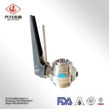 Sanitary Stainless Steel RJT Threaded Butterfly Valve