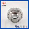 Stainless Steel Tank Fittings Weld Inline Sight Glass Union Type EPDM or FKM Gasket Inside