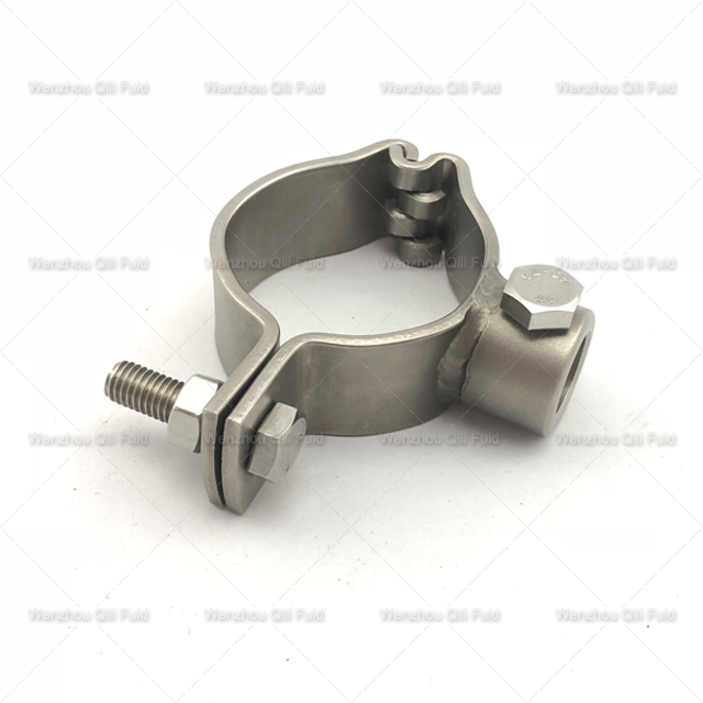 304 316L Sanitary Stainless Steel Pipe Holder Customized