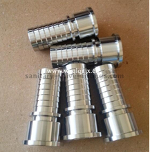 Sanitary Stainless Steel Fitting Hose Nipple for Piping System
