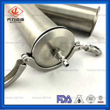 Sanitary Stainless Steel Pipe Fitting Clamp Custom Y Tee