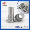 Sanitary Stainless Steel Tri Clamp Hydraulic Sanitary Hose Connector Fitting