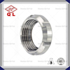 Stainless Steel Sanitary Pipe Fitting DIN Round Nut
