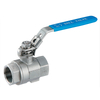 Sanitary Stainless Steel 2 Piece Female Ball Valve