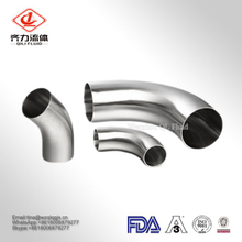 Sanitary Stainless Steel 90 Degree Weld Long Radius Elbow/Bend with SMS/3A/DIN/ISO Standard for Food Grade