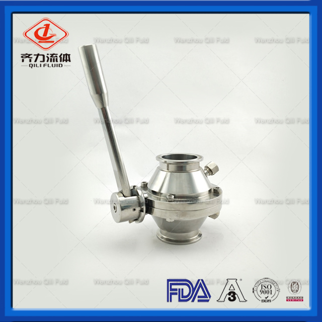 Sanitary Stainless Steel Tri Clamp Non Return Check Valve