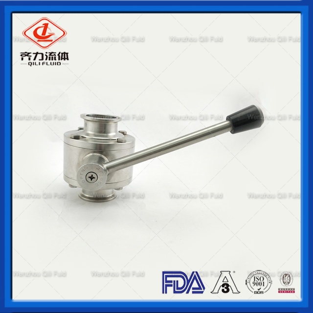 Sanitary Stainless Steel Tri Clamp High Pressure Ball Valve