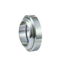 Sanitary Stainless Steel ISO Union Pipe Fittings