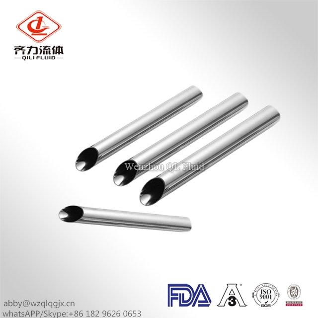 Round & Square Seamless Stainless Steel Sanitary Pipe