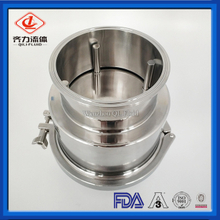 Sanitary SS Tri-clamp 304&316L 6'' Check Valve