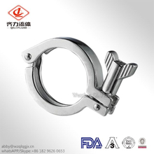 New Design Security Simple Stainless Steel Sanitary Heavy Duty Clamp