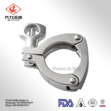 Manufacturer Sanitary SS304/SS316L Pipe Fitting 3PCS Clamp