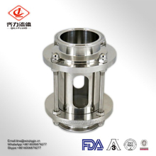 Stainless Steel 304/ 316L Sanitary Tubular/ Inline Sight Glass with Glass Tube