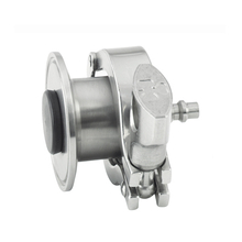 Sanitary Stainless Steel Air Blow Check Valve Quick Connect Plug
