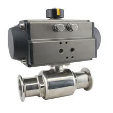 Hygienic Stainless Steel Tri Clamp Pneumatic Ball Valve