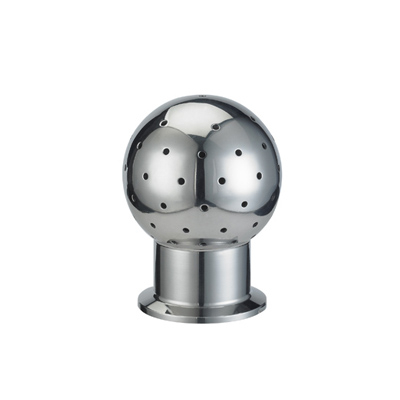 Sanitary Stainless Steel Clamped Fixed Cleaning Ball