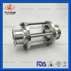 Sanitary Stainless Steel Flow Round Clamped Sight Glass