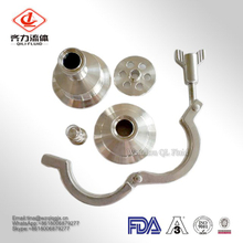 Hoting Sale Check Valve Weld Sanitary Stainless Steel 304/316L with 3A Certification API